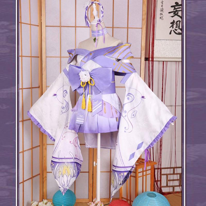 Re:ゼロから始める異世界生活 エミリア 着物 コスプレ衣装
