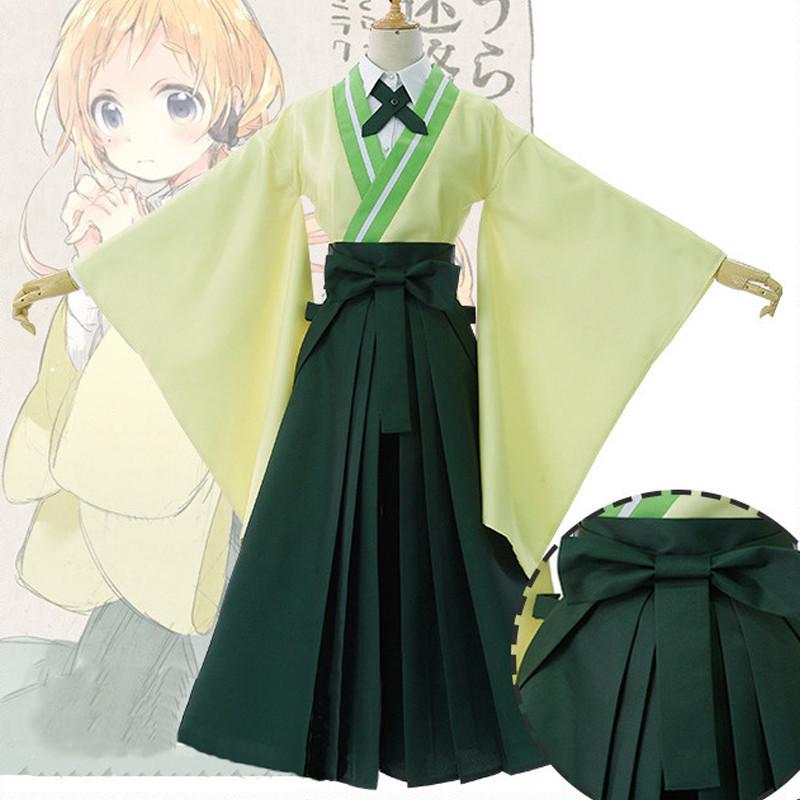 うらら迷路帖 棗ノノ  なつめのの コスプレ着物 入学式 卒業式 着用コスプレ衣装
