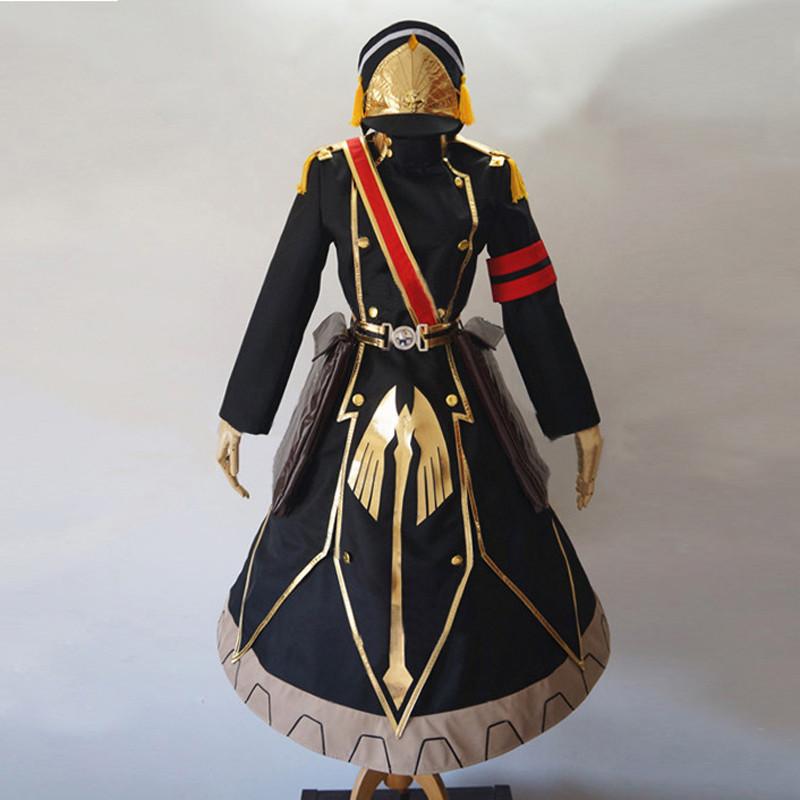 Re:CREATORS レクリエイターズ 軍服の姫君 ぐんぷくのひめぎみ 軍服 コスプレ衣装