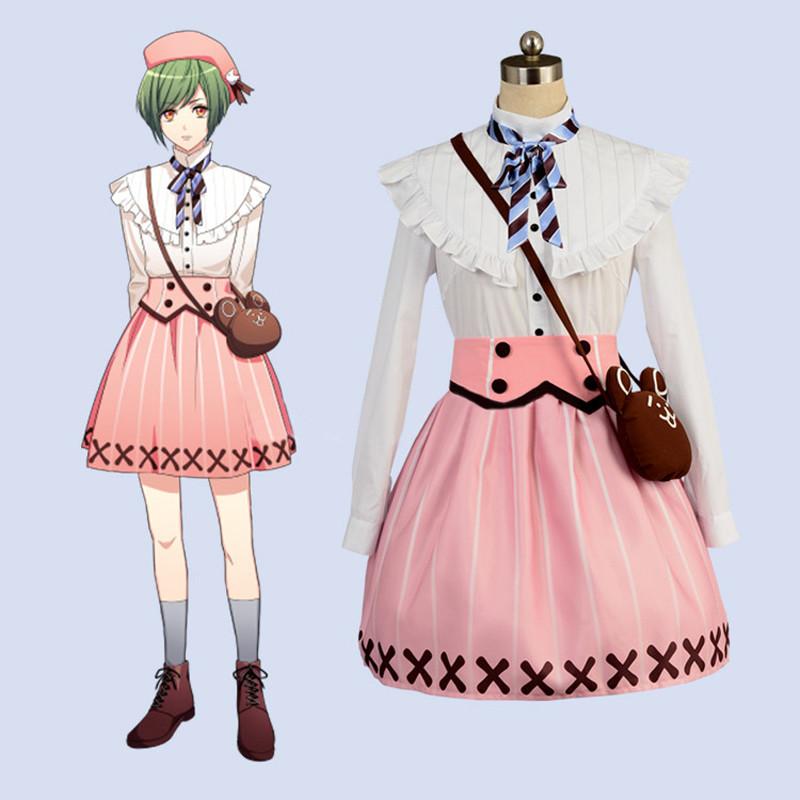 A3! エースリー 夏組 瑠璃川幸 洋装 スカート 日常可能 コスプレ衣装