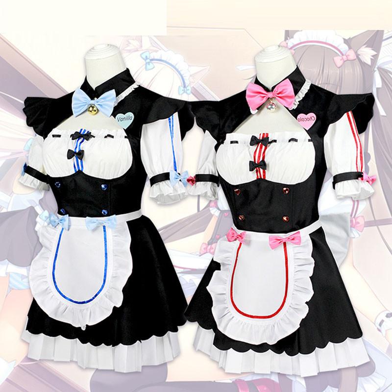 ネコぱら メイド服 全セット ショコラ バニラ メイド服