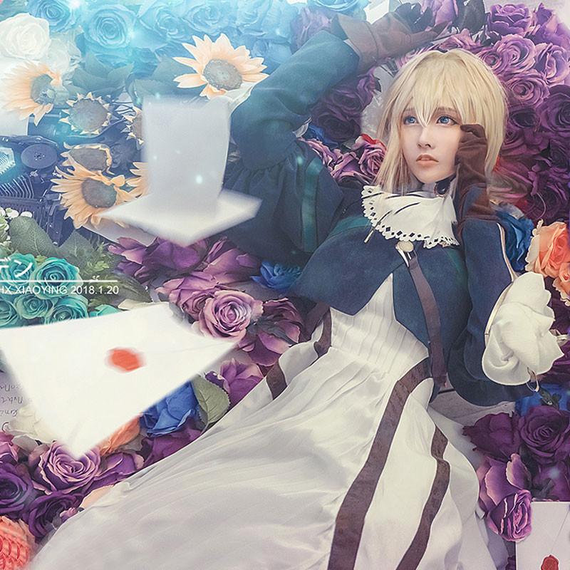 ヴァイオレット・エヴァーガーデン ヴァイオレット・エヴァーガーデン/Violet Evergarden コスプレ衣装