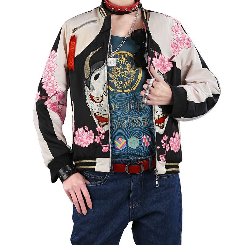 僕のヒーローアカデミア 爆豪勝己 同人コスプレ衣装 雑誌風