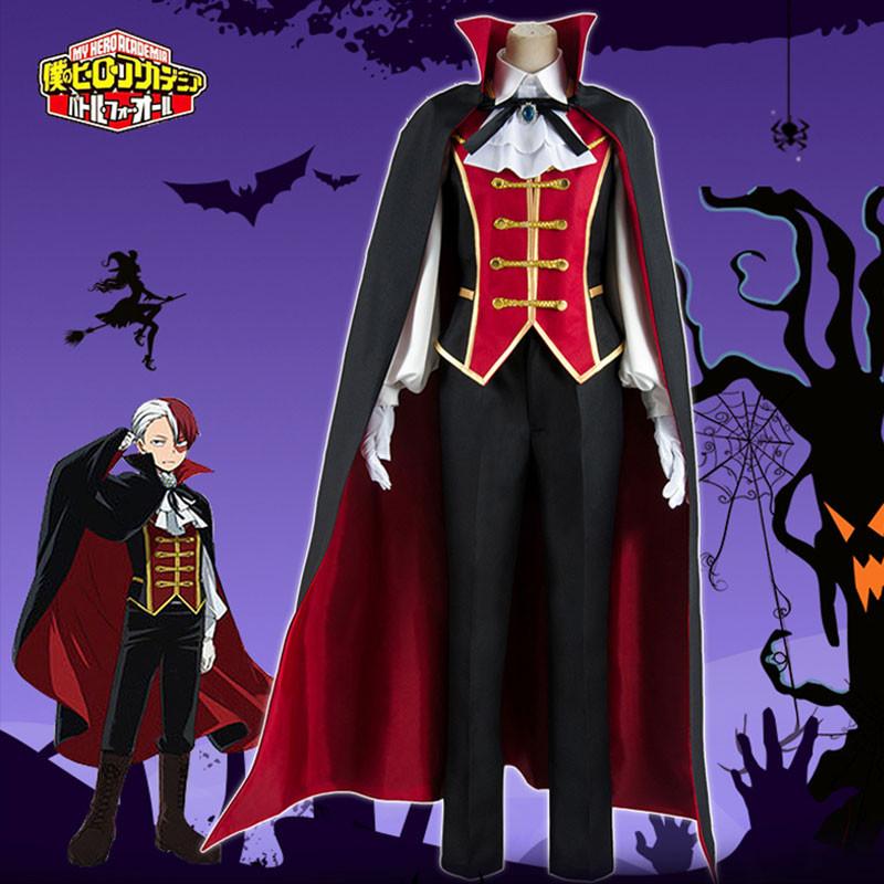 僕のヒーローアカデミア 轟焦凍  同人コスプレ衣装 ハロウィン 礼服 紳士的