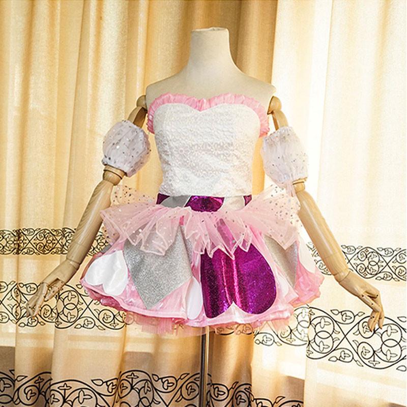 AKB48 ハート型ウイルス ステージ服 可愛い オーダーメイド コスプレ衣装