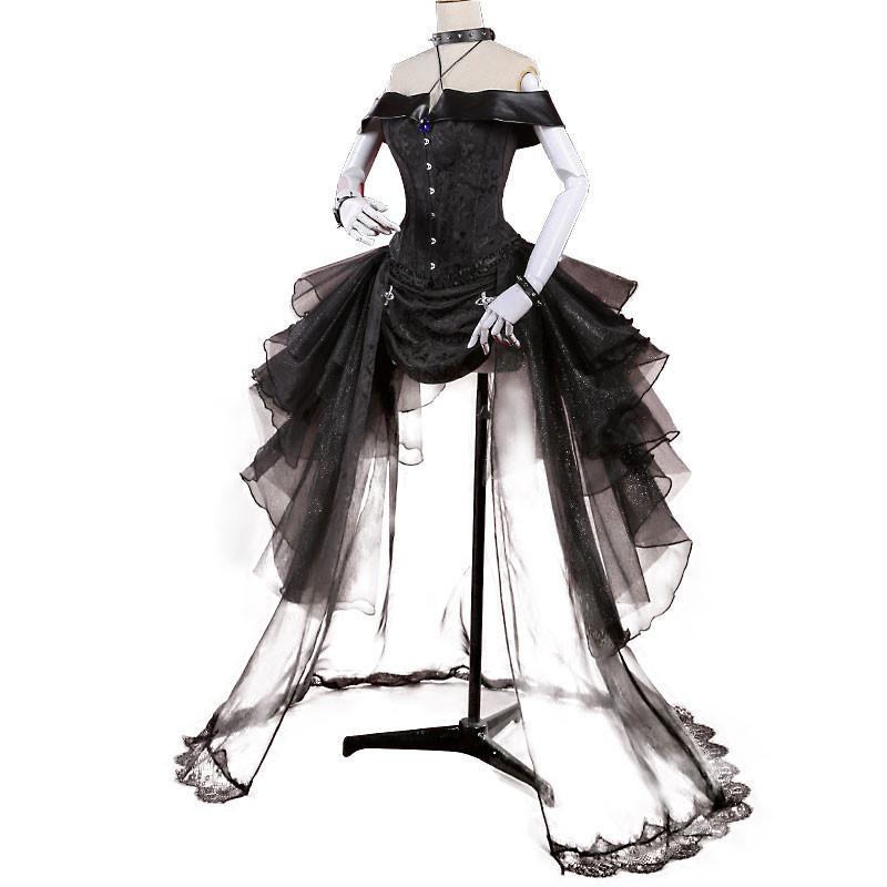 スーパーマリオ クッパ姫 コスプレ衣装 ドレス