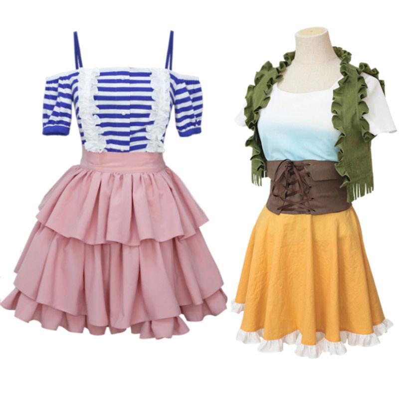 彼女、お借りします 七海麻美 可愛 ドレス 日常服 コスチューム