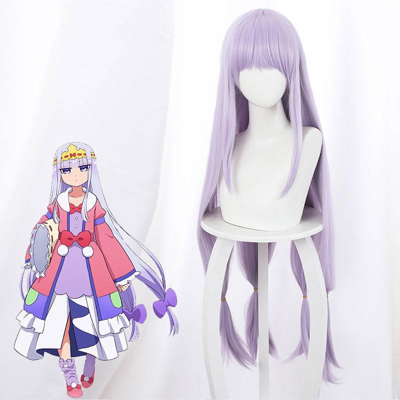 魔王城でおやすみ  イェリスプリンセス 可愛い  紫 ウイッグ 女性 コスプレ 仮装