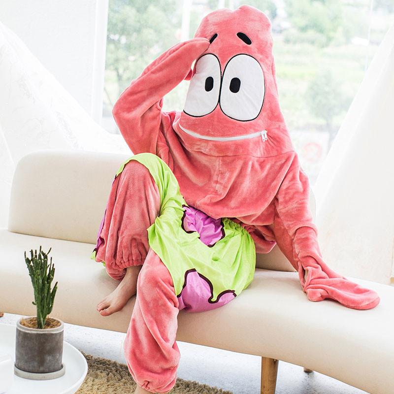 パトリック・スター 部屋着 ピンク ルーム服