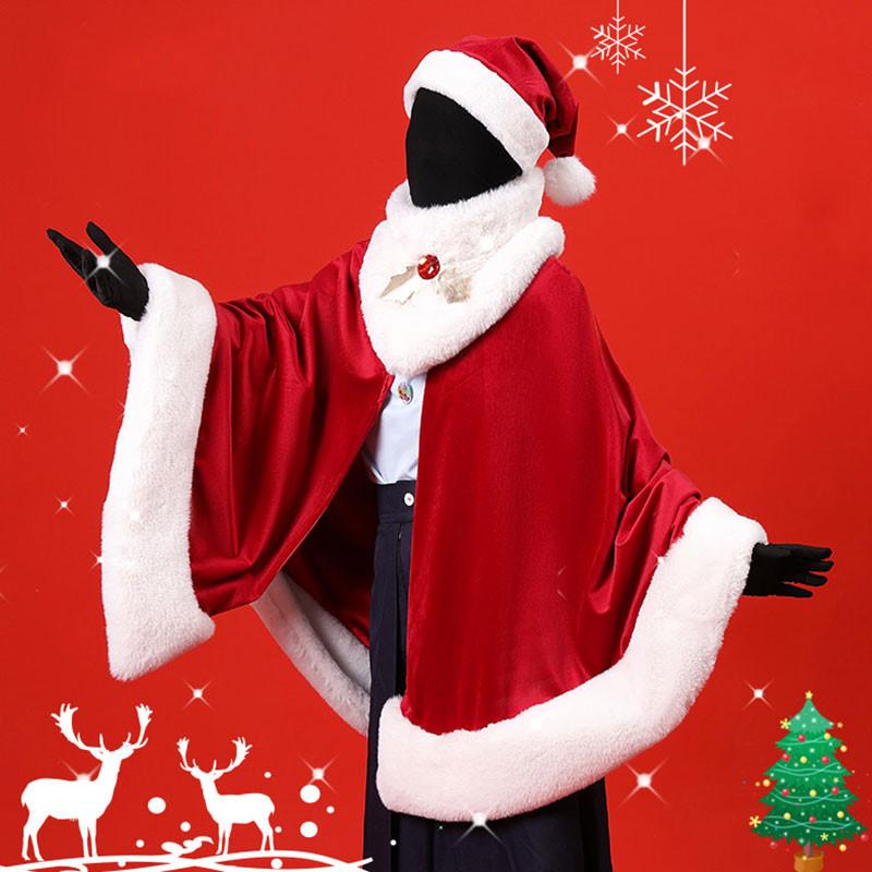 Sky 星を紡ぐ子どもたち クリスマス ふわふわマント+帽子