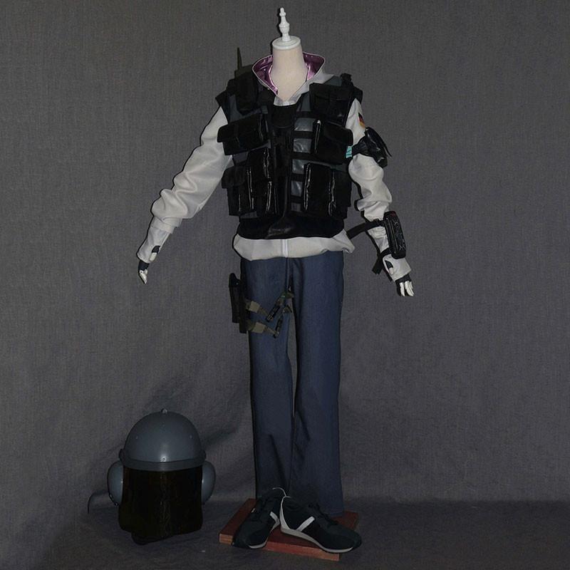 レインボーシックス シージ Tom Clancy`s Rainbow Six Siege 虹6 IQ アイキュー ブラック コスプレ衣装