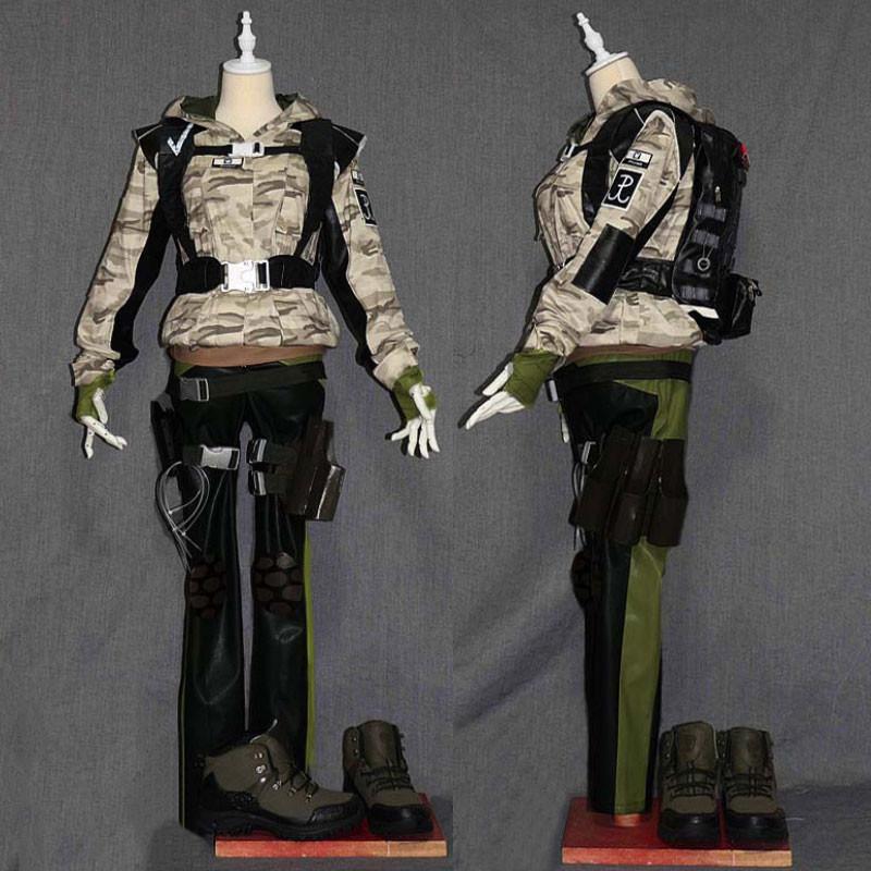 レインボーシックス シージ Tom Clancy`s Rainbow Six Siege 虹6 エラ ELA コスプレ衣装