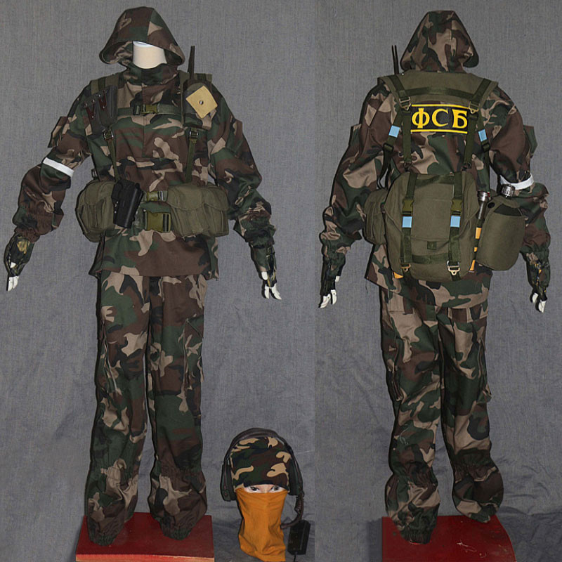 レインボーシックス シージ Tom Clancy`s Rainbow Six Siege 虹6 グラズ GLAZ コスプレ衣装