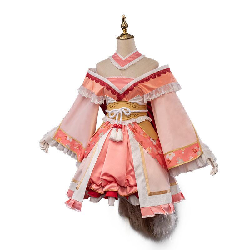 プリンセスコネクト!Re:Dive  真歩  ピンク レース 豪華版衣装