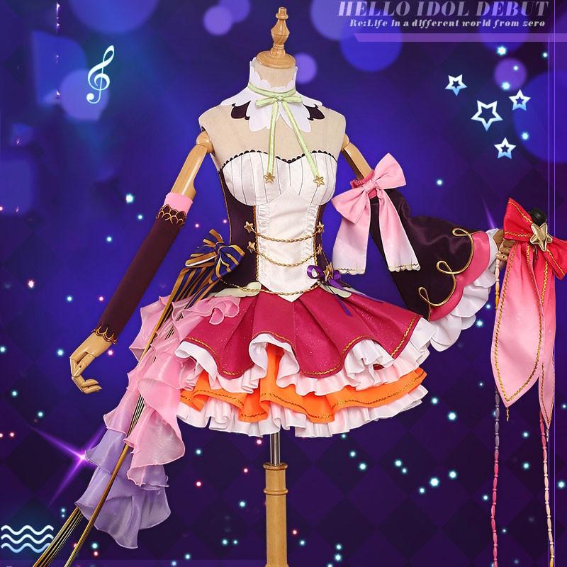 Re:ゼロから始める異世界生活  ラム  アイドル ドレス シンガー  コスチューム