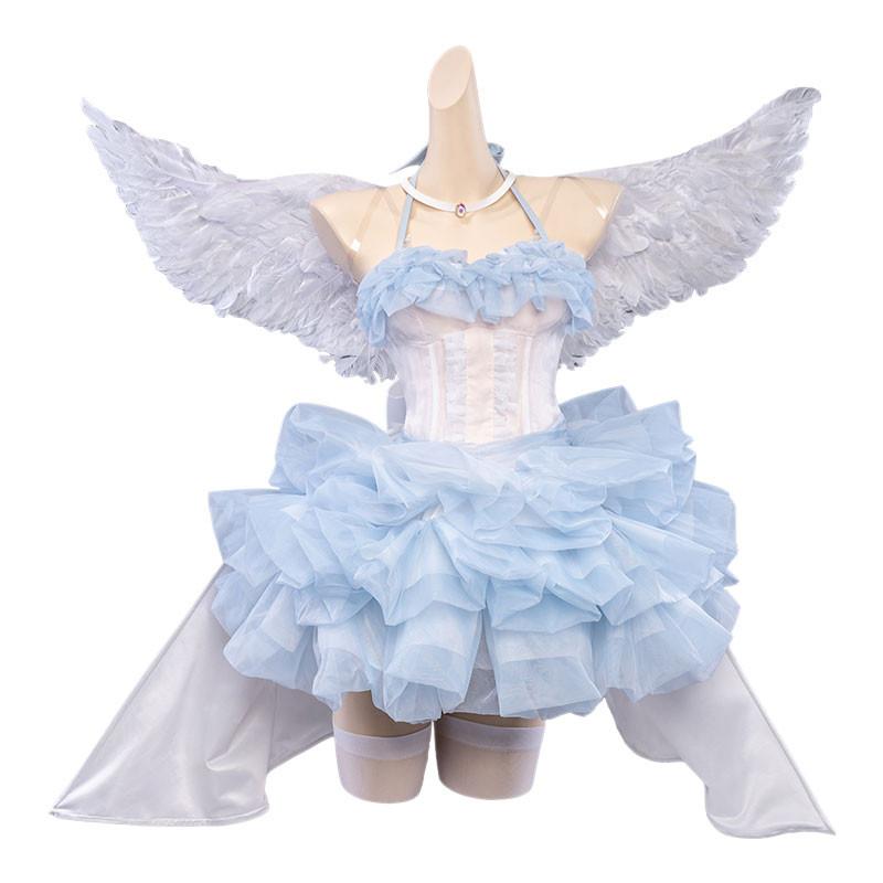Re:ゼロから始める異世界生活 リゼロ レム 天使服 コスプレ衣装