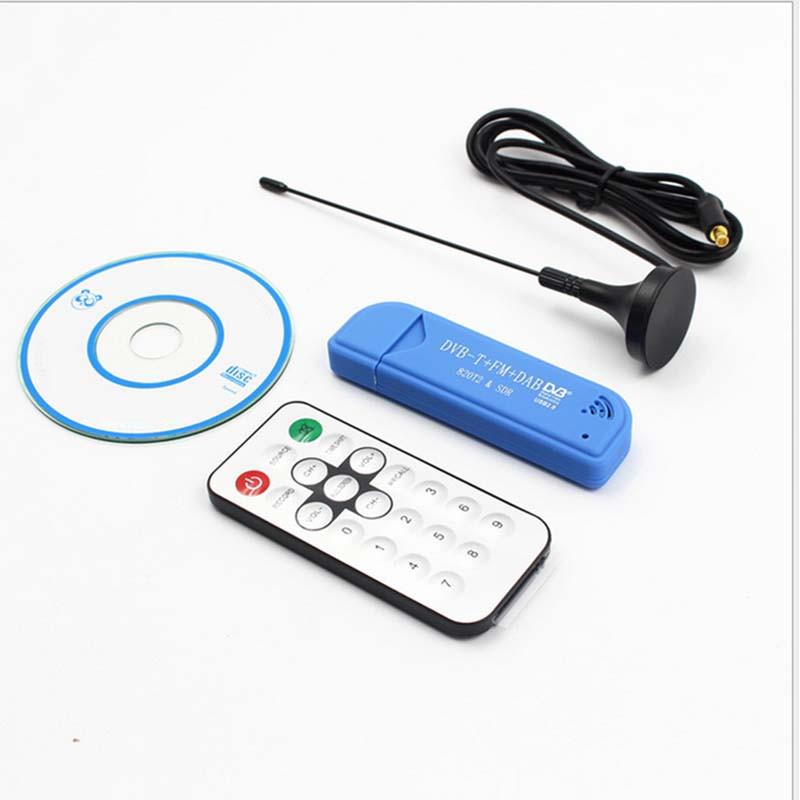 USB式ワイヤレスレシーバー  ラジオ受信機 USB2.0 SDR+DAB+FM TV DVB-T Stick RTL2832U+R820T2