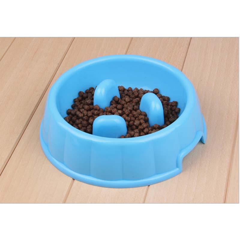 早食い防止 ペット食器 スローボウル  丸飲み防止 餌入れ 餌皿