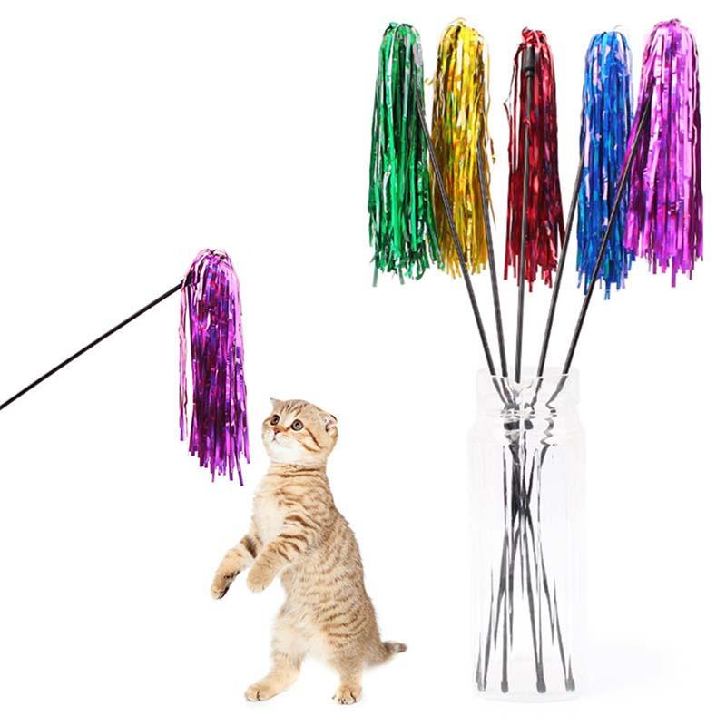 ペット用品 猫用 猫じゃらし 猫おもちゃ ネコ おもちゃ 玩具 遊具 ねこじゃらし 色おまかせ