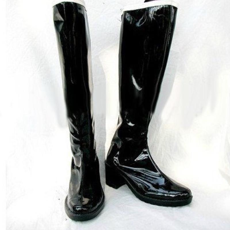 美少女戦士セーラームーン 冥王 せつな(めいおう せつな) ブーツ セーラープルート コスプレ靴