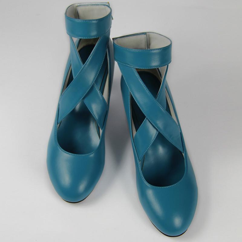 美少女戦士セーラームーン 海王 みちる(かいおう みちる)パンプス セーラーネプチューン コスプレ靴