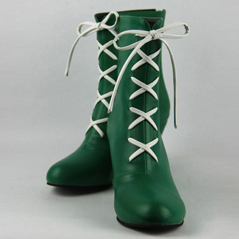 美少女戦士セーラームーン 木野 まこと (きの まこと)ブーツ セーラージュピターコスプレ靴