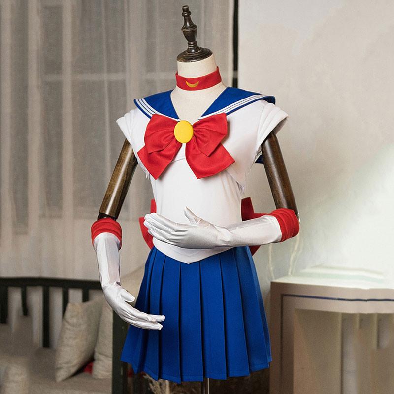 美少女戦士セーラームーン セーラー服 月野うさぎ ノースリーブ 制服 コスプレ衣装