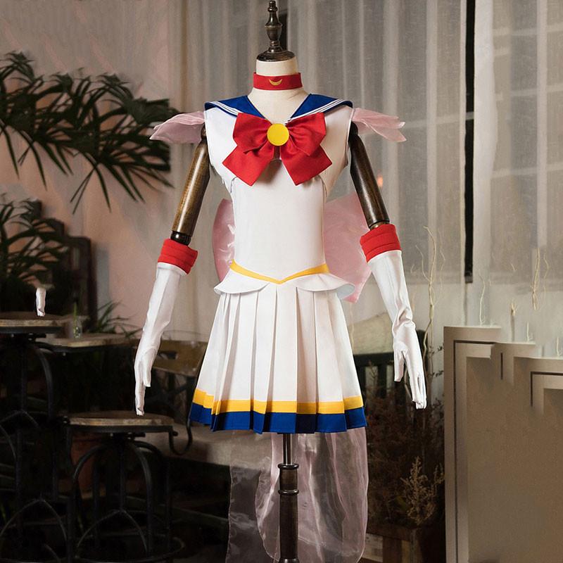 美少女戦士セーラームーン セーラー服 月野うさぎ スーパーセーラームーン 夏着 三段フリル袖