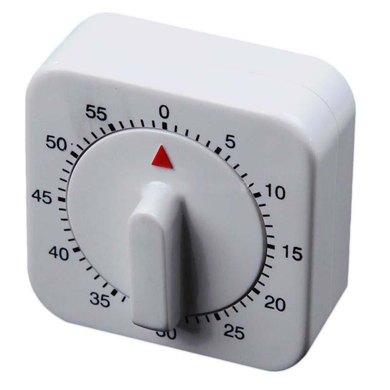キッチン用 ダイヤルタイマー 60分計 タイマー カウントダウン