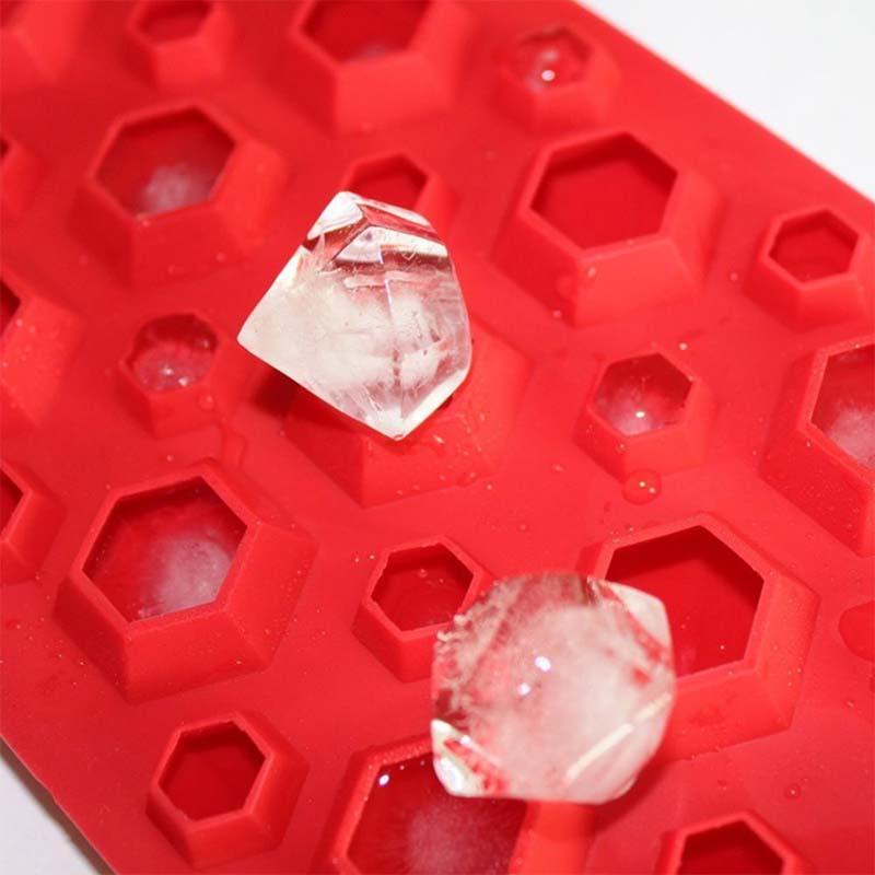 ダイヤモンドリング氷皿 DIY   製氷金型