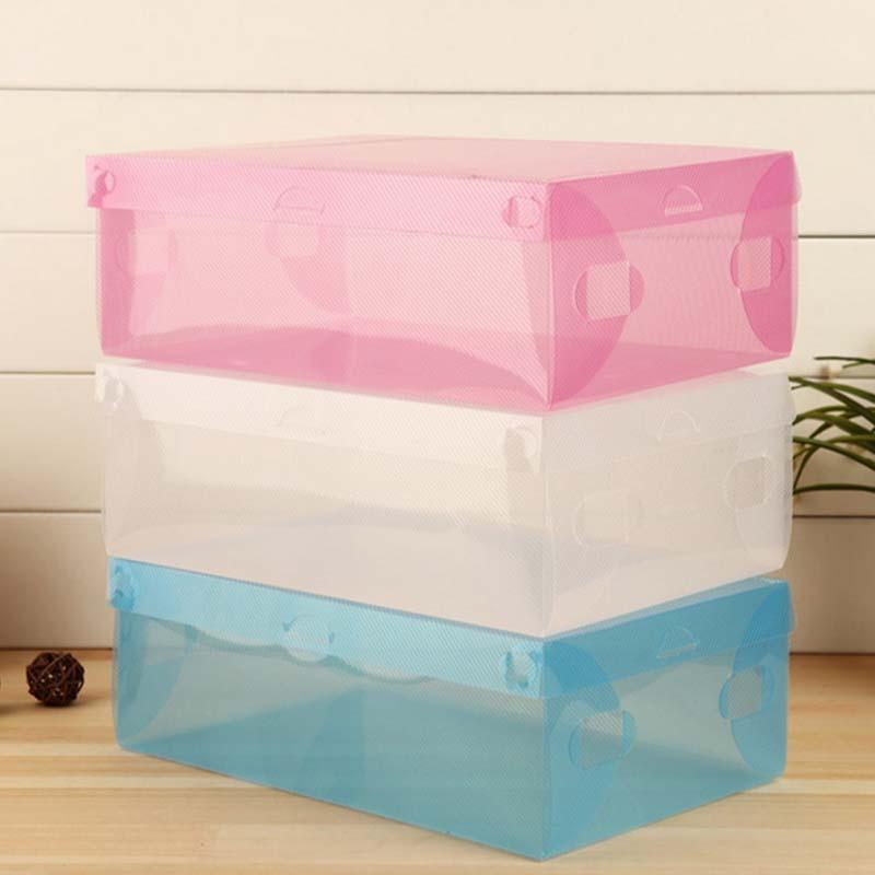 収納ケース プラスチック シューズボックス 下駄箱 折り畳み