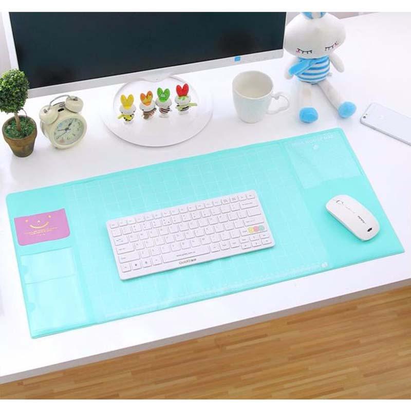 事務作業 多機能デスクマット デスクマット オフィス マウスマット マウスパッド 収納 整理