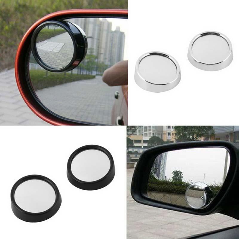 車用 補助ミラー 死角確認 後方確認 広角鏡採用 視界確保 角度調整可 車内取付 2個セット 360° 汎用 事故防止