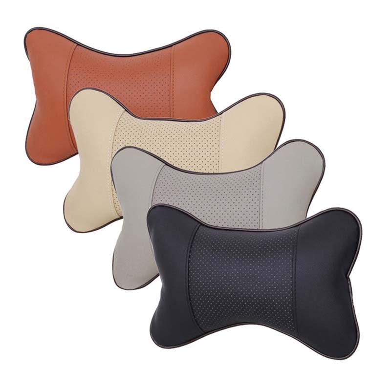車用 ヘッドレスト 頭頸部枕 首こり肩こり対策 首をフィット 首枕 2個セット 丸洗いOK