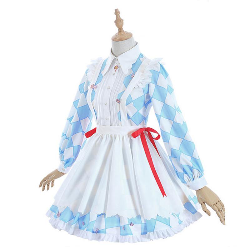 カードキャプターさくら 木之本 桜(きのもと さくら)ブルー+ホワイト 萌え萌え スカート