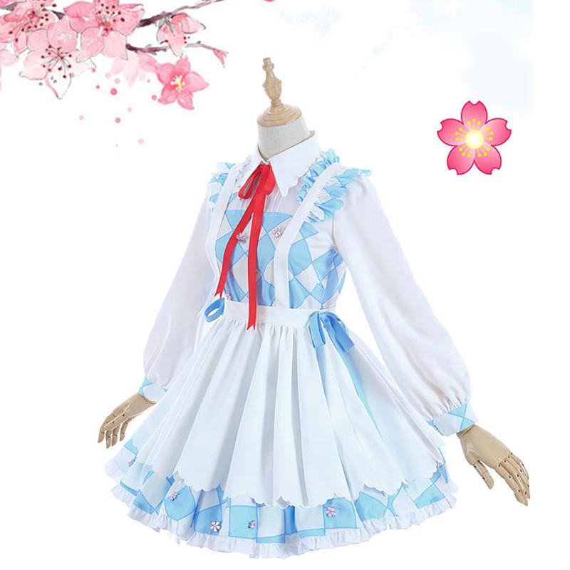 カードキャプターさくら 大道寺 知世(だいどうじ ともよ)ブルー+ホワイト 萌え萌え スカート