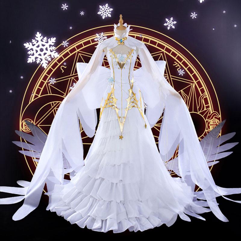 カードキャプターさくら クリアカード編 大道寺 知世 だいどうじ ともよ 雪の天使 水晶 ドレス コスチューム