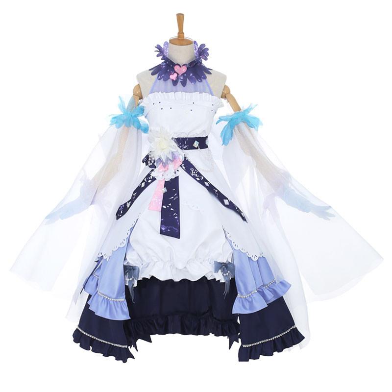 カードキャプターさくら クリアカード編 木之本桜 コスプレ衣装 白雪 ドレス