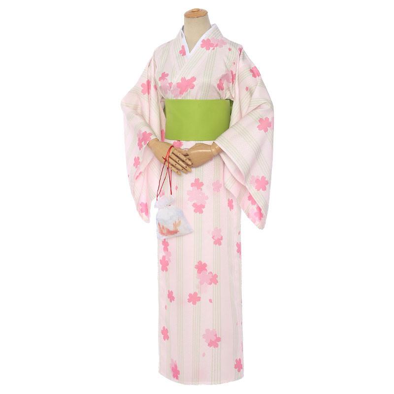 カードキャプターさくら 木之本桜 桜柄 着物 浴衣 花火大会 コスプレ衣装 可愛い