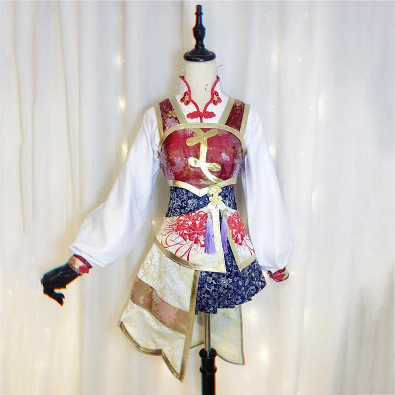 真・三國無双4 大喬 コスプレ衣装 スカート オーダーメイド