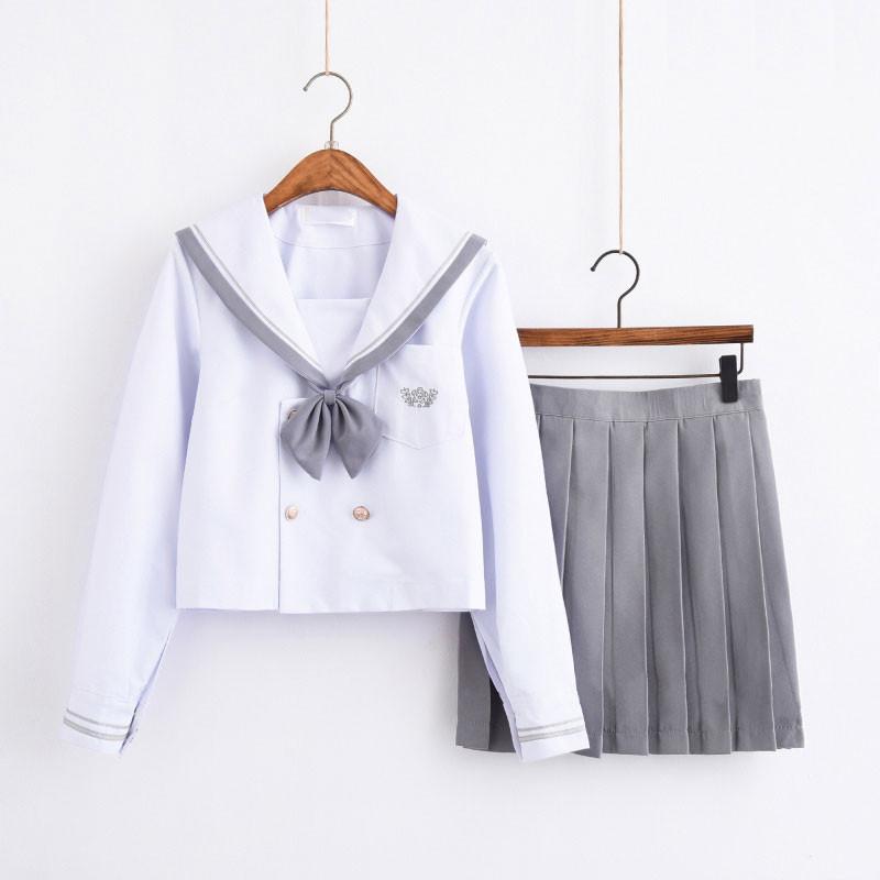 制服 jk コスプレ衣装 日常風 セーラー服 高校生 学生 中学 女子校生 通学 学校 スクール 学生服