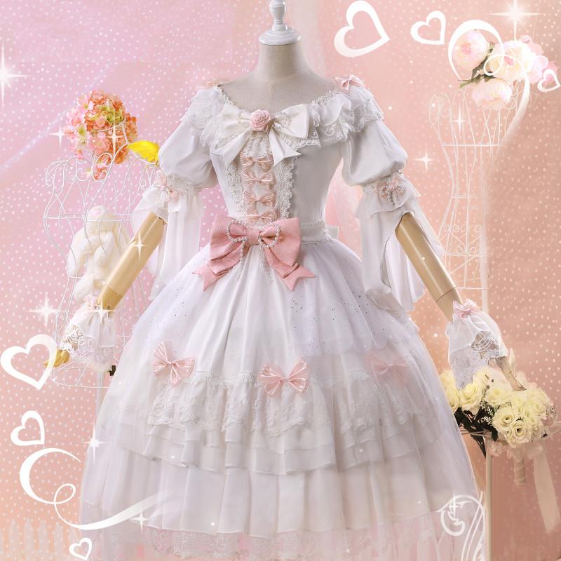 VOCALOIDボーカロイド 楽正綾 (がくせいりょう) ローズ花嫁 洋服風 ドレス コスプレ衣装