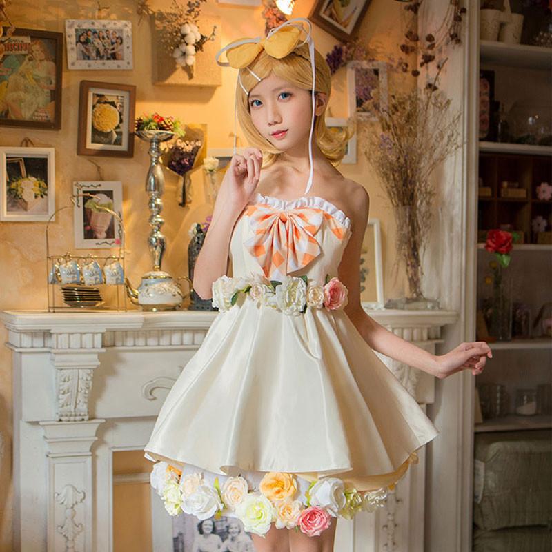 鏡音リン お誕生日ドレス RIN スカート 女子 ワンピース