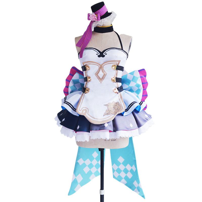 VOCALOID 初音ミク クチャン 「HATSUNE MIKU with YOU 2018」 スカート コスプレ衣装 コスチューム