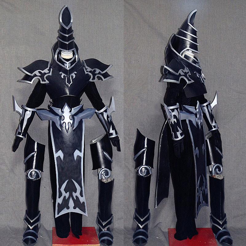 遊☆戯☆王 ブラック·マジシャン セット ブラック コスプレ衣装 コスプレ道具 武器付き