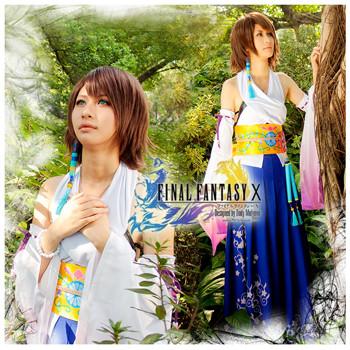 ファイナルファンタジー X ユウナ(Yuna ) コスプレ衣装