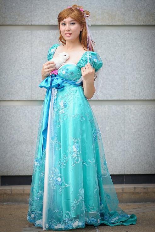Enchanted 魔法にかけられて Giselle ジゼル コスプレ衣装 コスチューム 変装 仮装