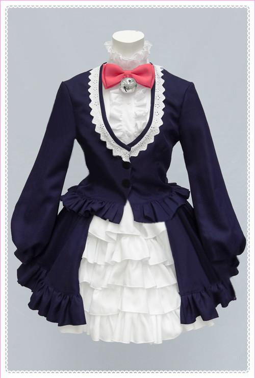 SHOWBYROCK!! しょうばいろっく シアン コスプレ衣装