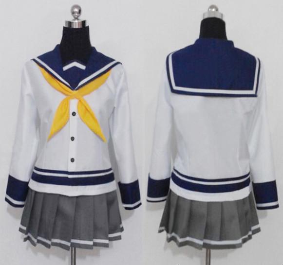 艦隊これくしょん -艦これ- 艦娘 磯風 浜風 コスプレ衣装 セーラー服