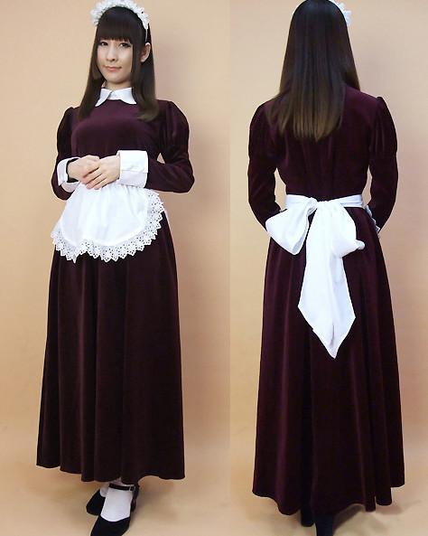 メイド服 メイドドレス コスプレ衣装 正統派制服